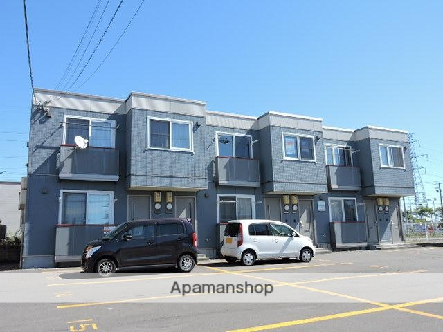 北海道苫小牧市の築10年 2階建の賃貸アパート