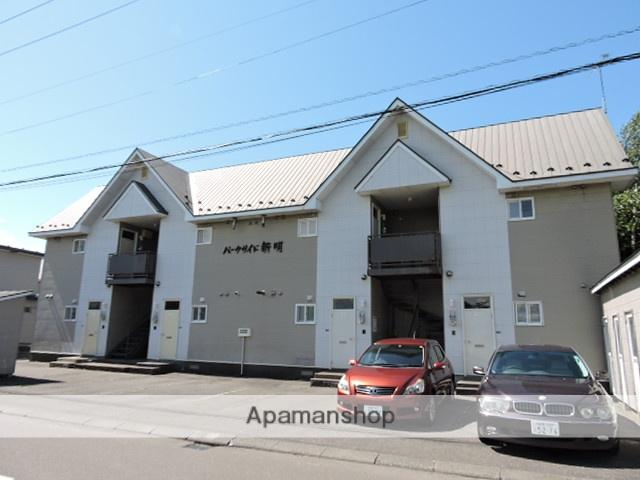北海道苫小牧市の築23年 2階建の賃貸アパート