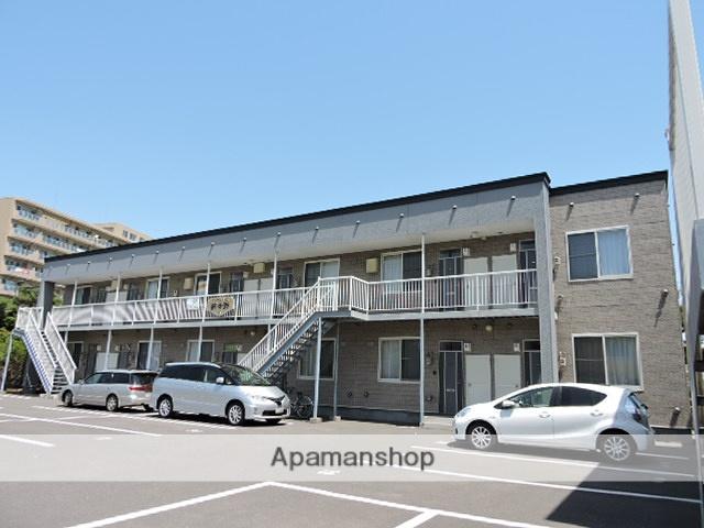 北海道苫小牧市の築15年 2階建の賃貸アパート