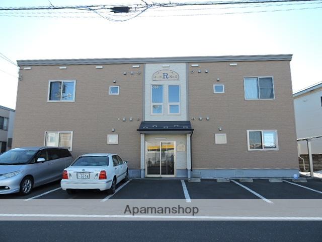 北海道苫小牧市の築6年 2階建の賃貸アパート