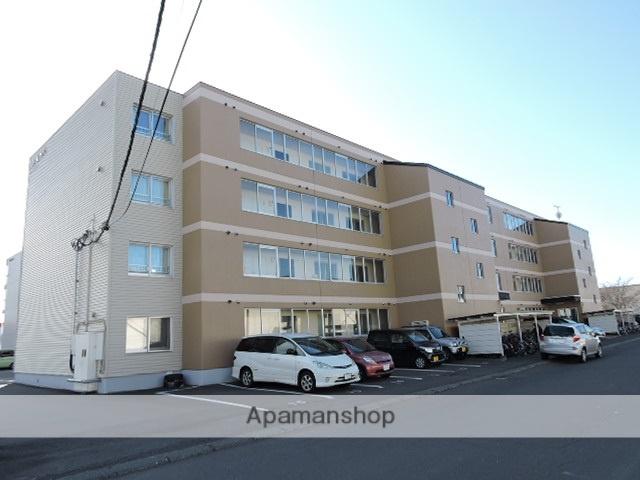 北海道苫小牧市、沼ノ端駅徒歩8分の築21年 4階建の賃貸マンション