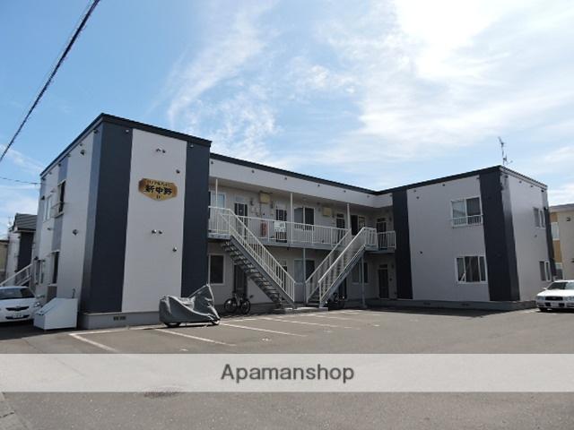 北海道苫小牧市の築13年 2階建の賃貸アパート