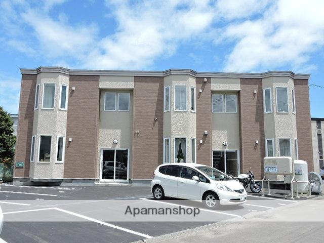 北海道苫小牧市の築7年 2階建の賃貸アパート