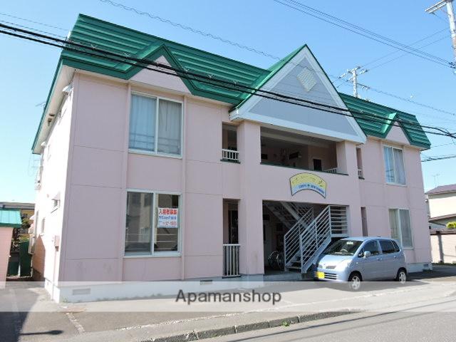 北海道苫小牧市の築25年 2階建の賃貸アパート