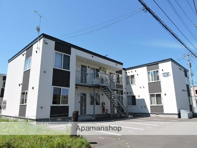 北海道苫小牧市、沼ノ端駅徒歩3分の築4年 2階建の賃貸アパート
