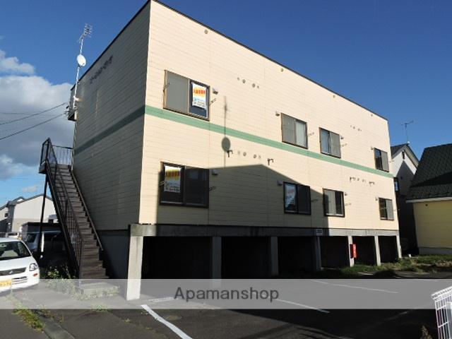 北海道苫小牧市の築28年 2階建の賃貸アパート