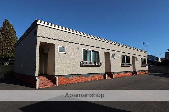 北海道苫小牧市の新築 1階建の賃貸アパート