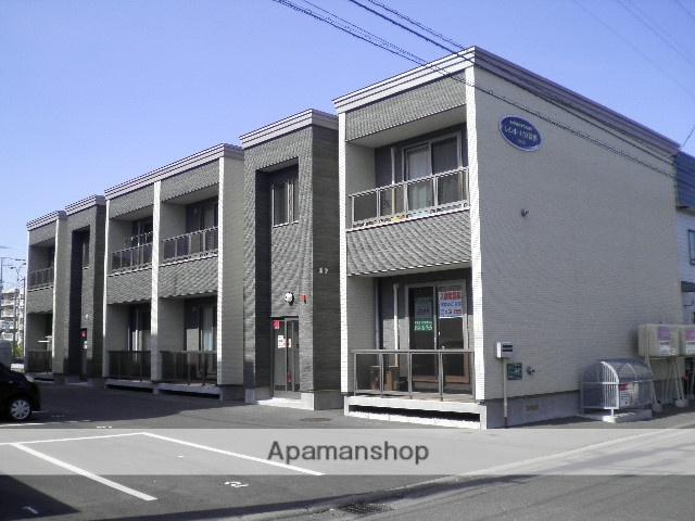 北海道苫小牧市の築5年 2階建の賃貸アパート