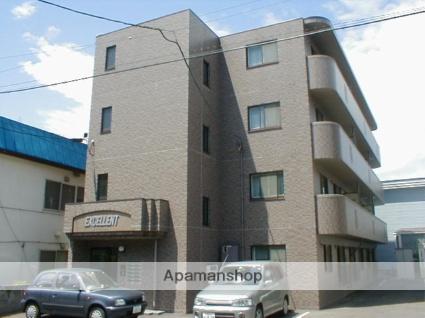 北海道札幌市中央区、中央図書館前駅徒歩12分の築20年 4階建の賃貸マンション