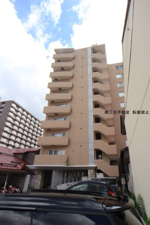 北海道札幌市中央区、バスセンター前駅徒歩8分の築12年 10階建の賃貸マンション