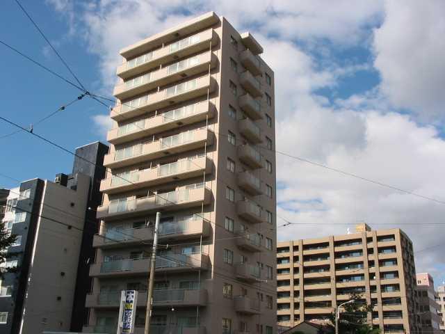 北海道札幌市中央区、西線11条駅徒歩5分の築12年 12階建の賃貸マンション