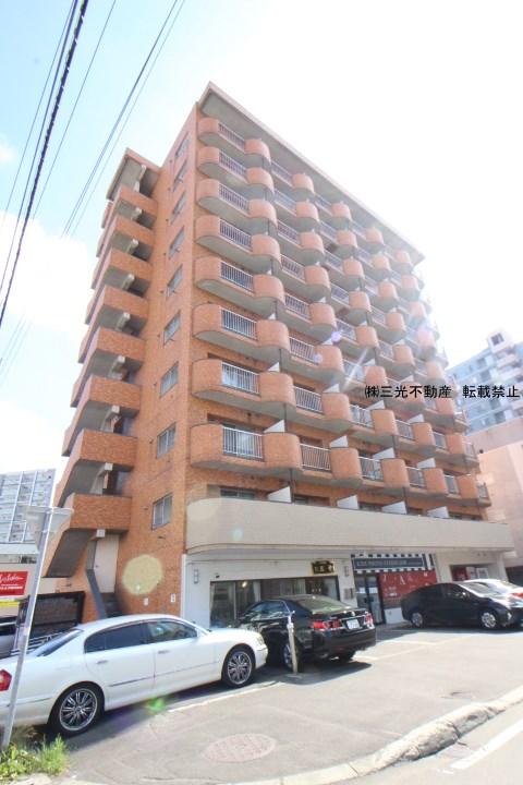 北海道札幌市中央区、バスセンター前駅徒歩6分の築27年 10階建の賃貸マンション