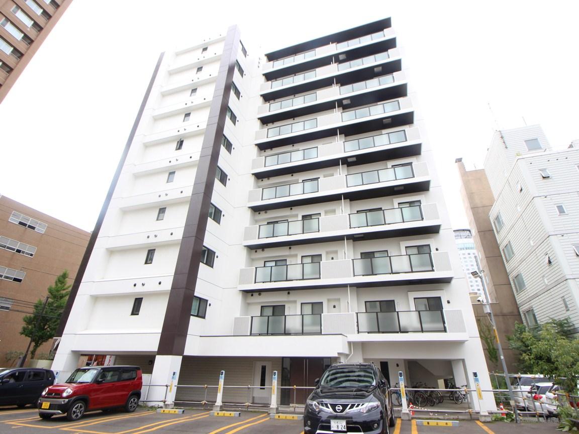北海道札幌市中央区、西11丁目駅徒歩6分の築2年 10階建の賃貸マンション