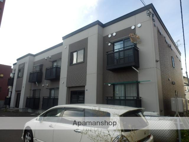北海道札幌市中央区、石山通駅徒歩8分の築15年 2階建の賃貸アパート