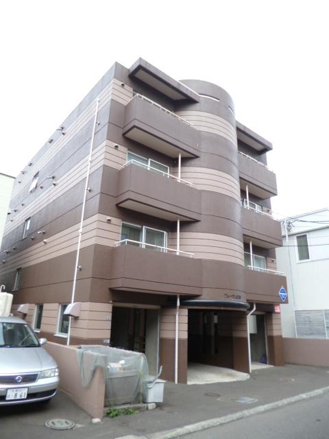 北海道札幌市中央区、西線6条駅徒歩9分の築25年 4階建の賃貸マンション
