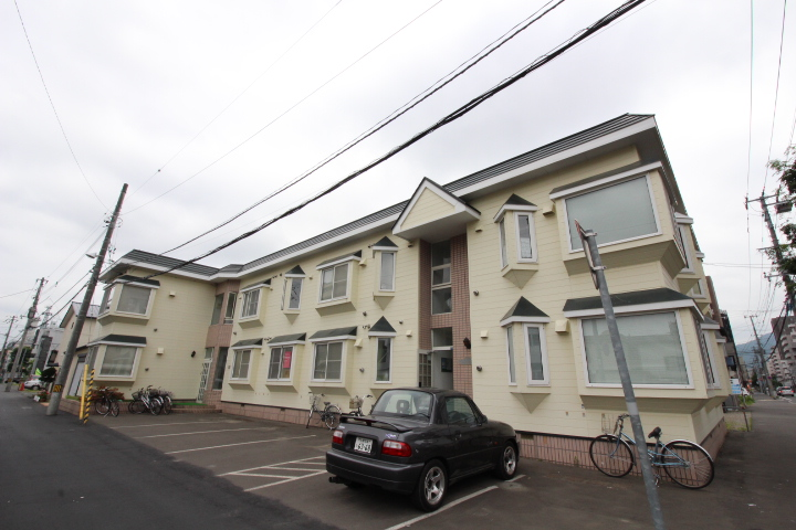 北海道札幌市中央区、西28丁目駅徒歩10分の築29年 2階建の賃貸アパート