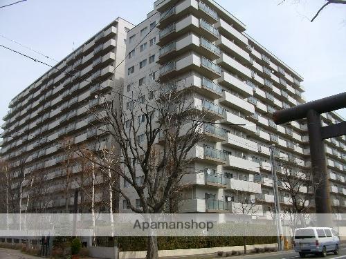 北海道札幌市中央区、西28丁目駅徒歩8分の築33年 14階建の賃貸マンション