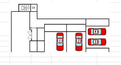 KG Square S6[1LDK/30.29m2]の配置図