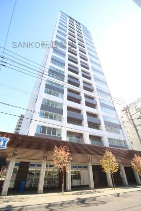 ラフィネタワー札幌南3条[1LDK/39.32m2]の外観2