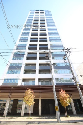 ラフィネタワー札幌南3条[1LDK/39.32m2]の外観4