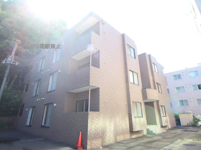 北海道札幌市中央区、電車事業所前駅徒歩7分の築17年 4階建の賃貸マンション