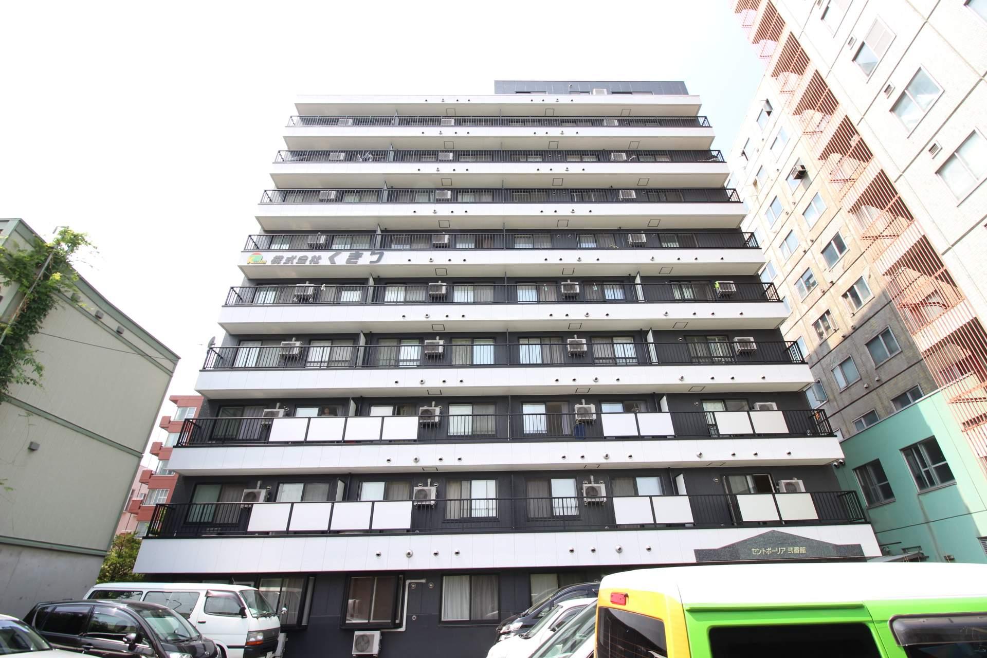 北海道札幌市中央区、中島公園駅徒歩4分の築15年 10階建の賃貸マンション