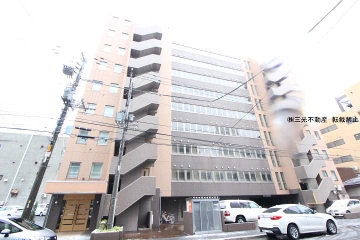 北海道札幌市中央区、西18丁目駅徒歩8分の築16年 9階建の賃貸マンション