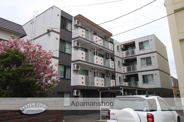 北海道札幌市中央区、西線11条駅徒歩14分の築4年 4階建の賃貸マンション