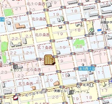 Jewel北円山[1LDK/41.46m2]の配置図