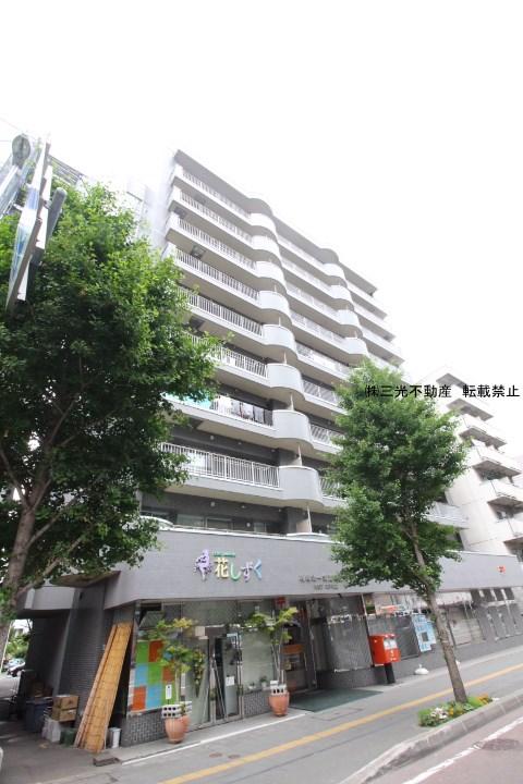 北海道札幌市中央区、円山公園駅徒歩11分の築21年 10階建の賃貸マンション