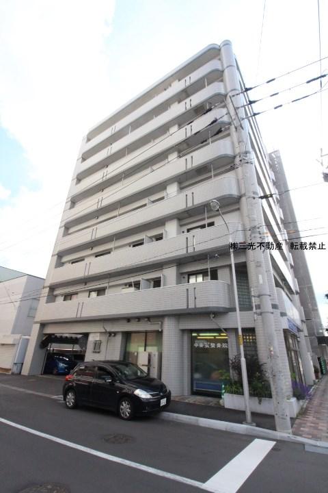 北海道札幌市中央区、バスセンター前駅徒歩3分の築28年 8階建の賃貸マンション