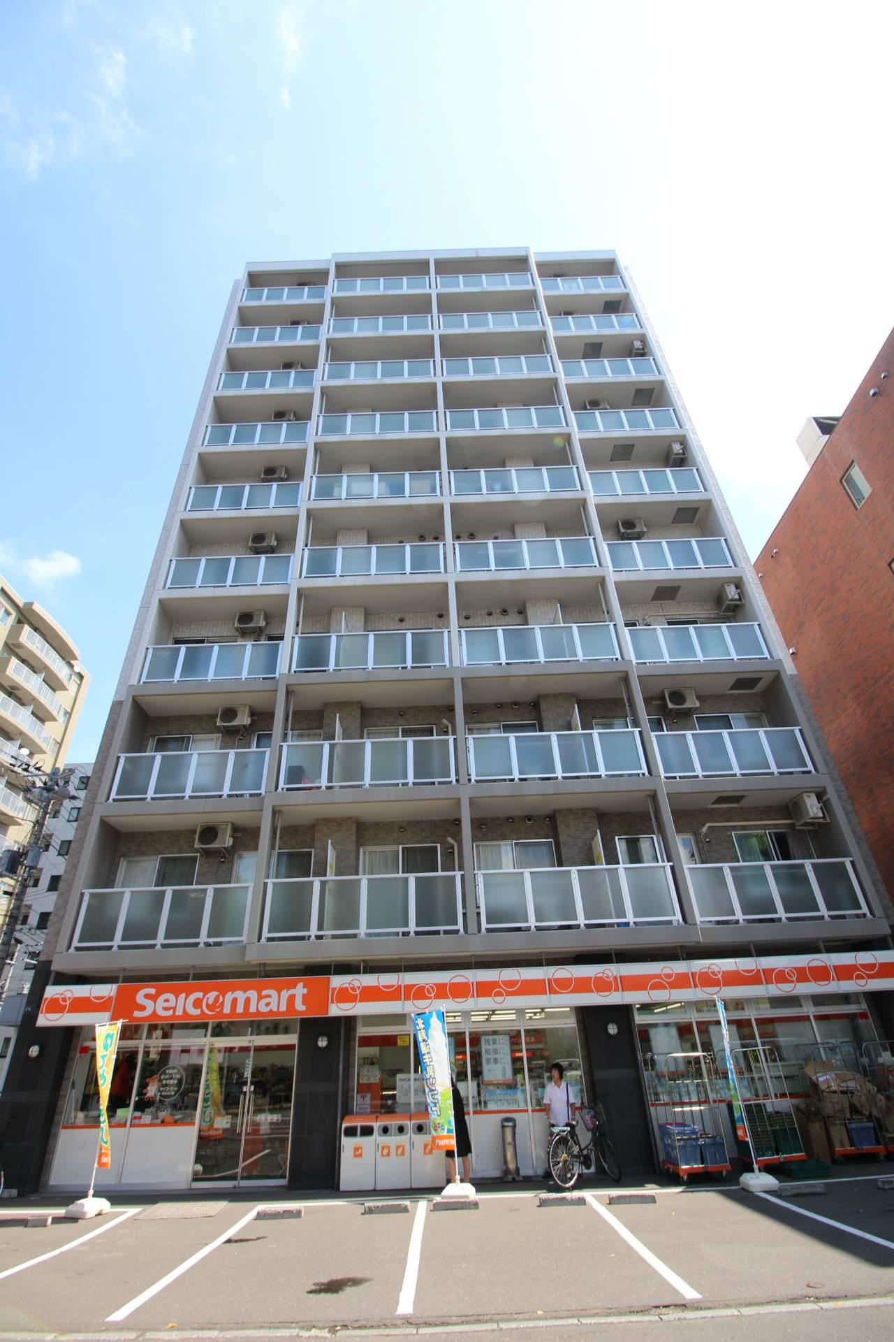 北海道札幌市中央区、二十四軒駅徒歩15分の築9年 10階建の賃貸マンション