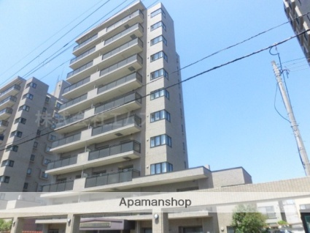 北海道札幌市中央区、中島公園通駅徒歩7分の築27年 11階建の賃貸マンション