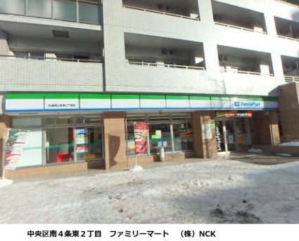 ラフィネタワー札幌南3条[1LDK/39.32m2]の周辺4