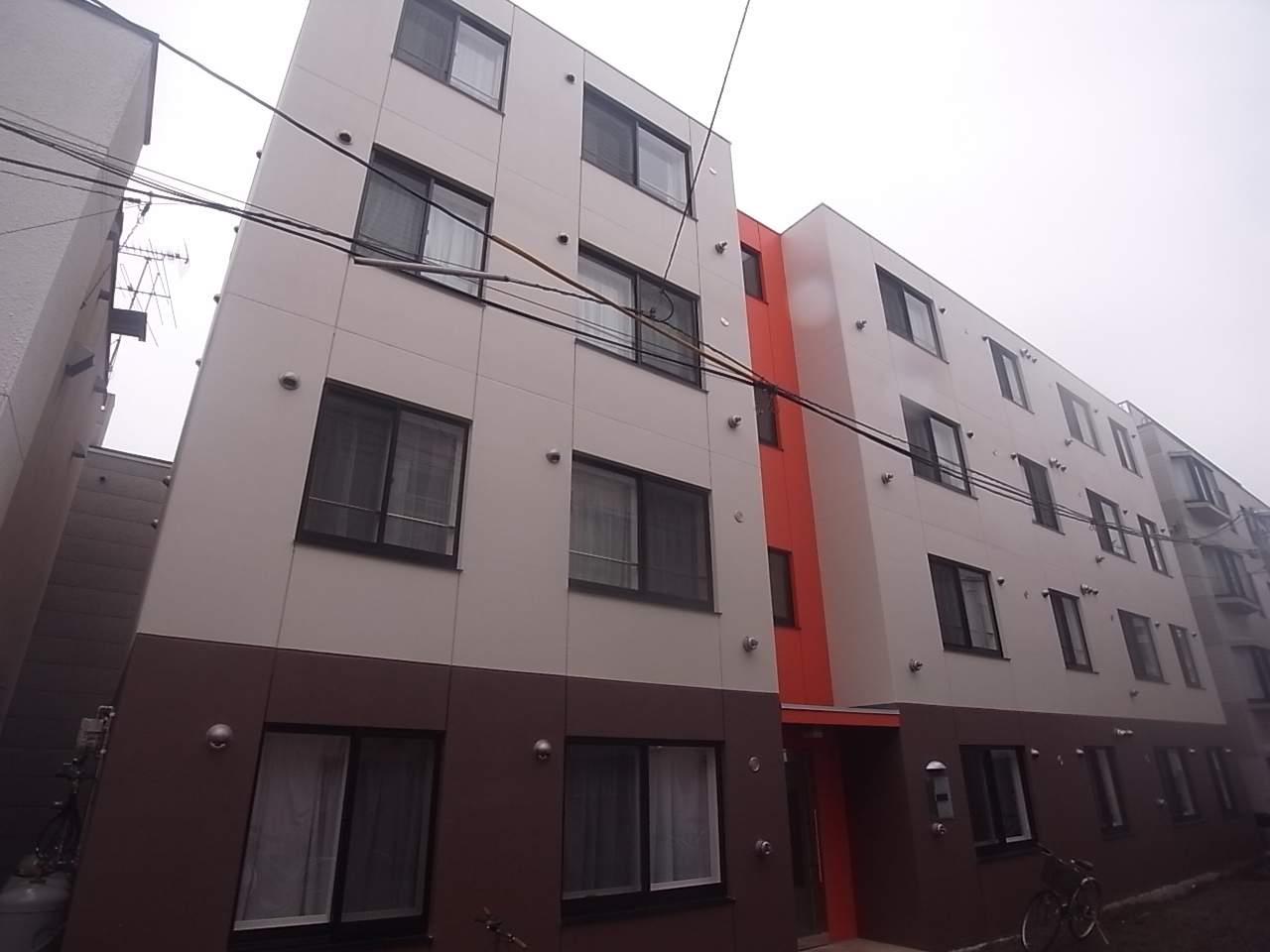 北海道札幌市中央区、西18丁目駅徒歩9分の築4年 4階建の賃貸マンション