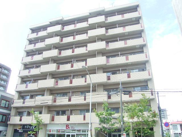 北海道札幌市中央区、二十四軒駅徒歩9分の築28年 8階建の賃貸マンション