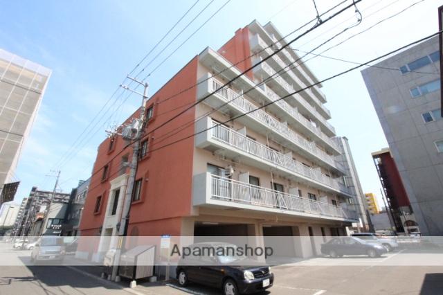 北海道札幌市中央区、桑園駅徒歩11分の築27年 8階建の賃貸マンション