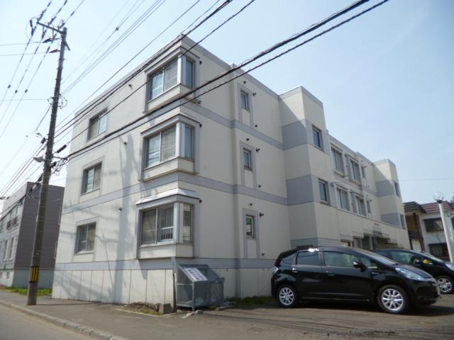 北海道札幌市中央区、円山公園駅徒歩11分の築27年 3階建の賃貸マンション