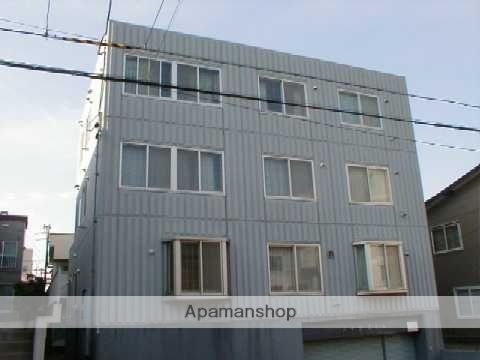北海道札幌市中央区、中島公園駅徒歩7分の築27年 3階建の賃貸マンション