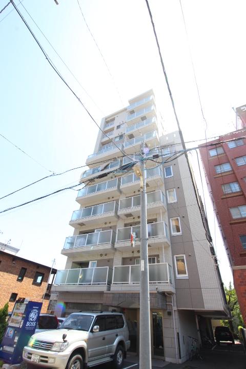 北海道札幌市中央区、西線14条駅徒歩6分の築10年 10階建の賃貸マンション