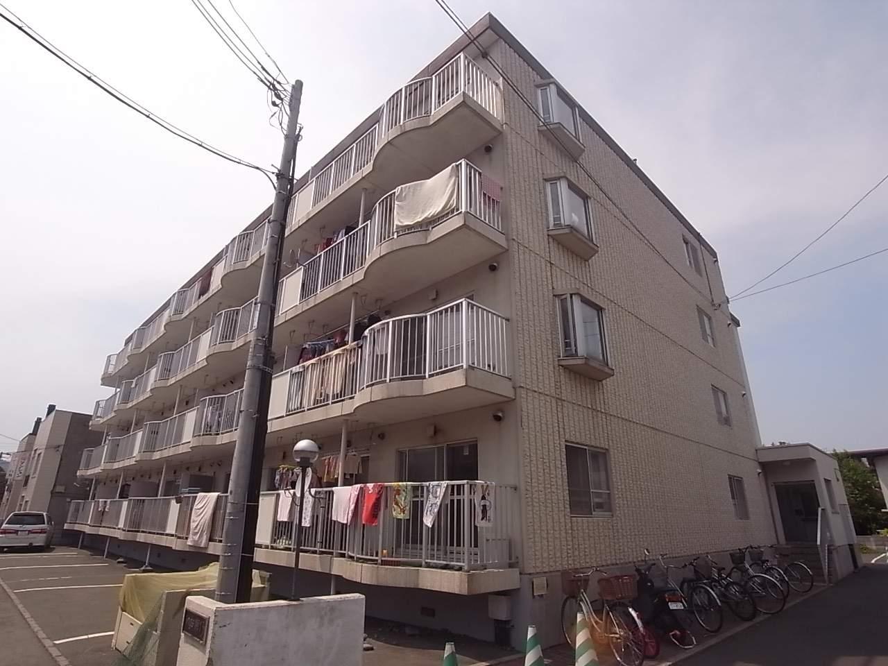 北海道札幌市中央区、西線11条駅徒歩7分の築28年 4階建の賃貸マンション