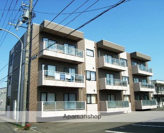 北海道北広島市、北広島駅徒歩13分の築14年 3階建の賃貸マンション