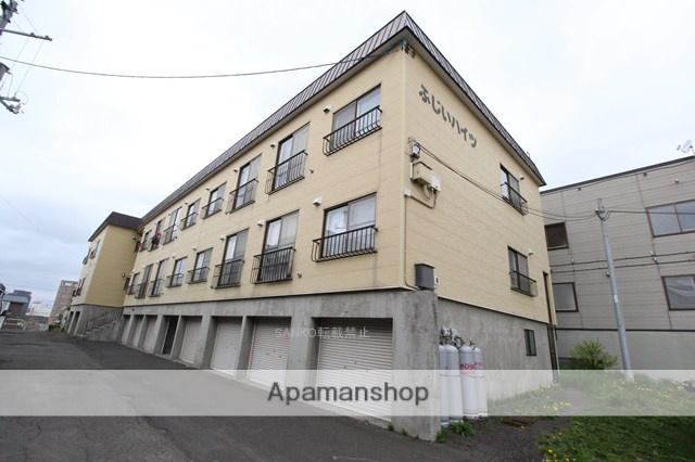 北海道札幌市厚別区、厚別駅徒歩16分の築35年 2階建の賃貸アパート