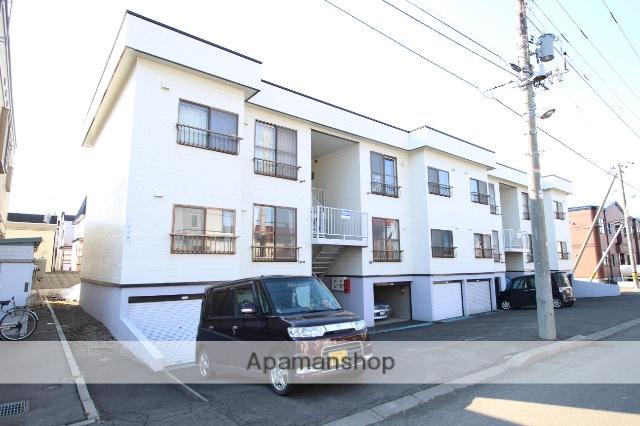北海道札幌市厚別区、厚別駅徒歩12分の築29年 2階建の賃貸アパート