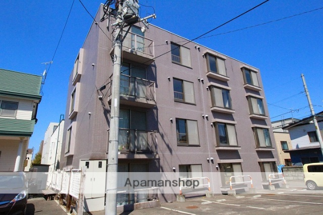 北海道札幌市厚別区、大谷地駅徒歩13分の築26年 4階建の賃貸マンション