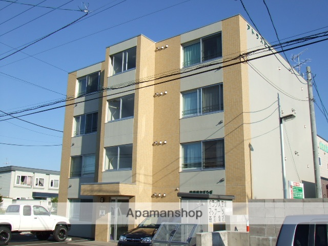 北海道北広島市、北広島駅徒歩15分の築10年 4階建の賃貸マンション