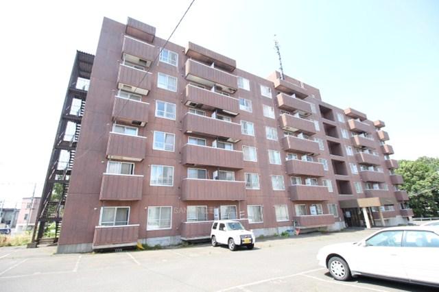 北海道札幌市厚別区、厚別駅徒歩10分の築28年 6階建の賃貸マンション