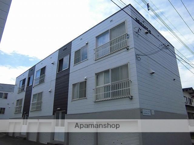 北海道札幌市厚別区、厚別駅徒歩6分の築26年 2階建の賃貸アパート