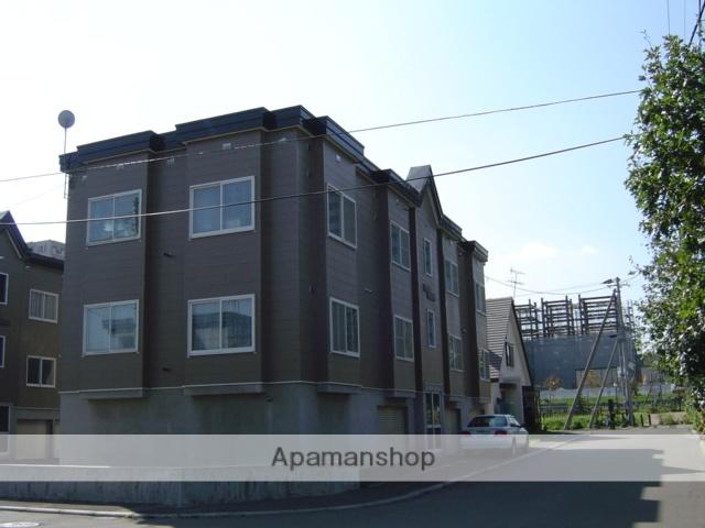 北海道北広島市、北広島駅徒歩4分の築27年 2階建の賃貸アパート