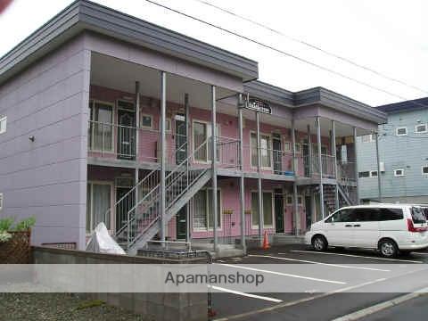 北海道北広島市、北広島駅徒歩4分の築21年 2階建の賃貸アパート